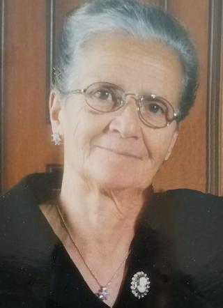 foto necrologio di BERGAMO MARIA