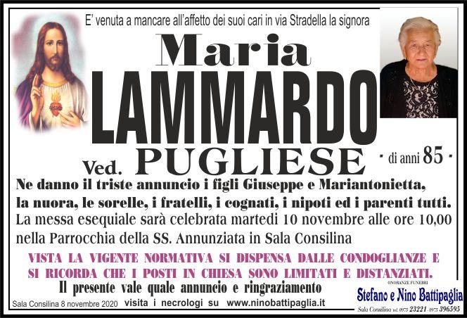 foto manifesto LAMMARDO MARIA