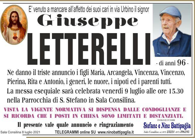 foto manifesto LETTERELLI GIUSEPPE