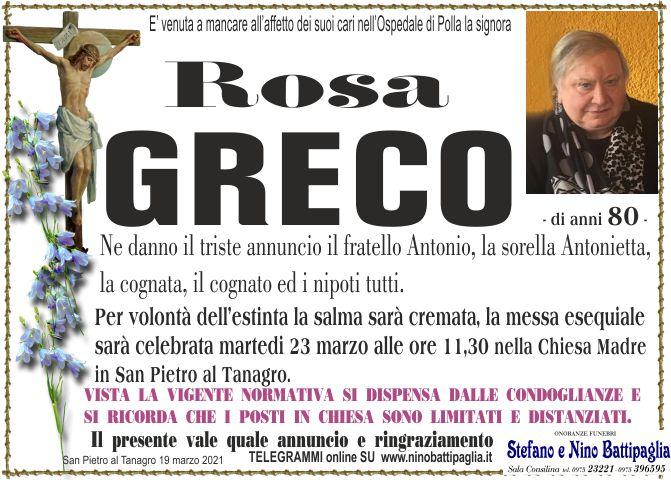 foto manifesto GRECO ROSA