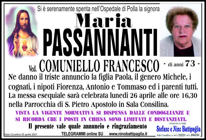 foto manifesto PASSANNANTI MARIA