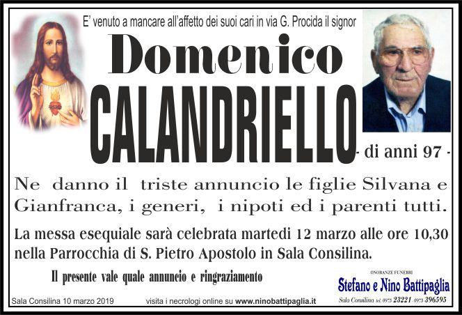 foto manifesto CALANDRIELLO DOMENICO