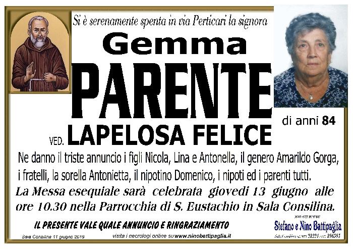foto manifesto PARENTE GEMMA