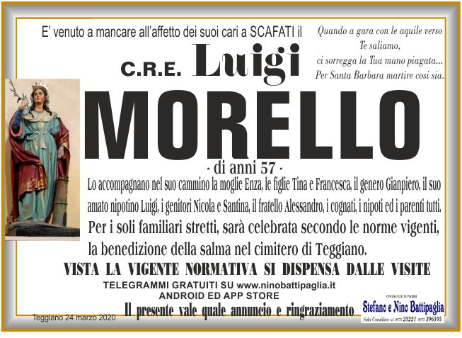 foto manifesto MORELLO LUIGI
