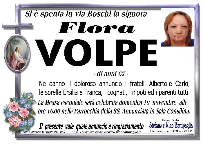 foto manifesto VOLPE FLORA