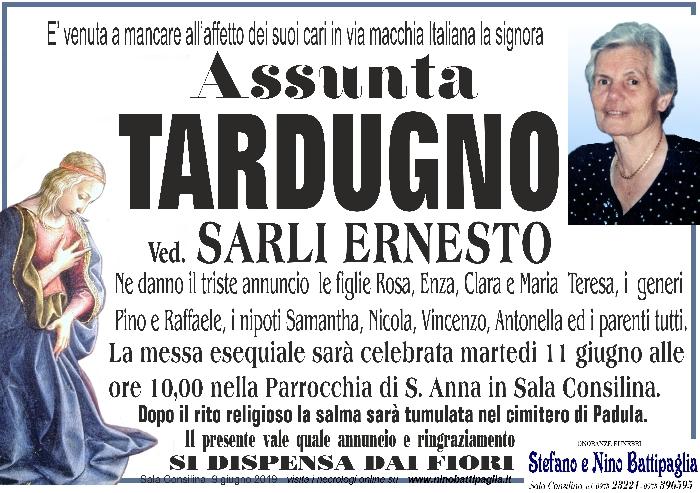 foto manifesto TARDUGNO ASSUNTA