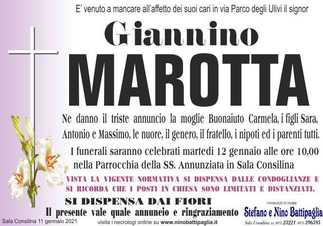 foto manifesto MAROTTA GIANNINO