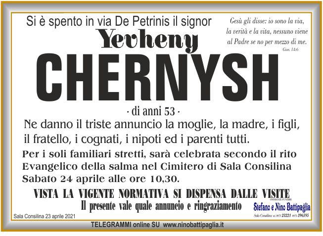 foto manifesto CHERNYSH YEVHENY