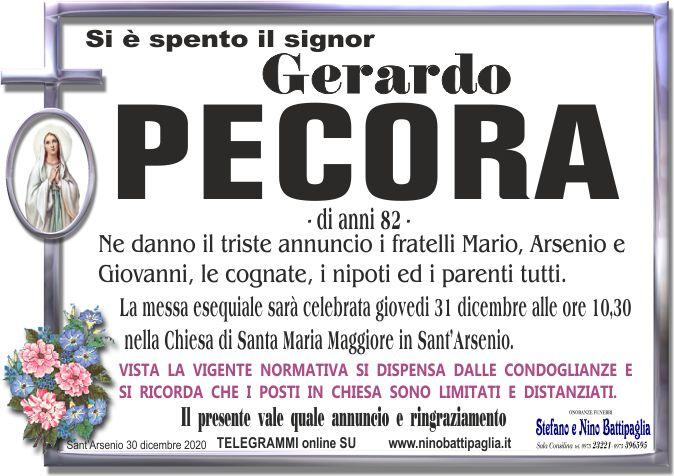foto manifesto PECORA GERARDO