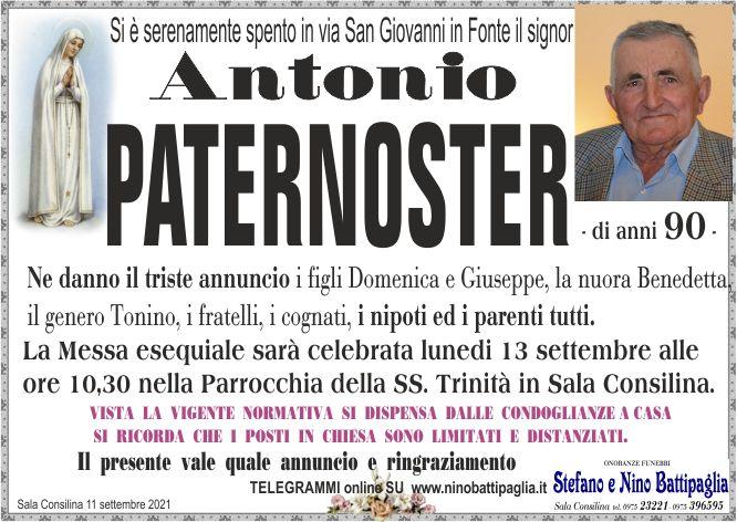 foto manifesto PATERNOSTER ANTONIO