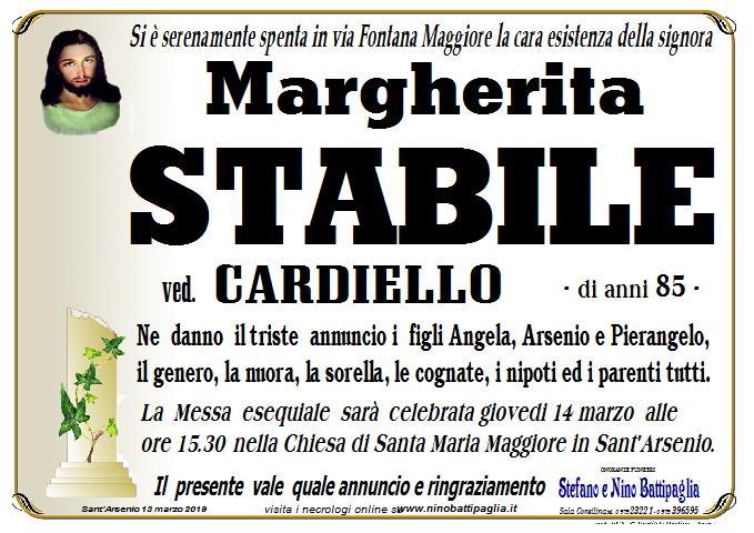 foto manifesto STABILE MARGHERITA