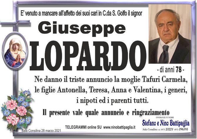 foto manifesto LOPARDO GIUSEPPE