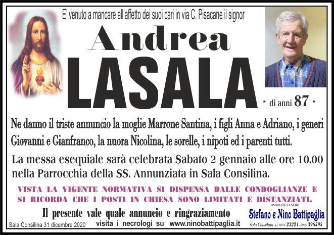 foto manifesto LASALA ANDREA