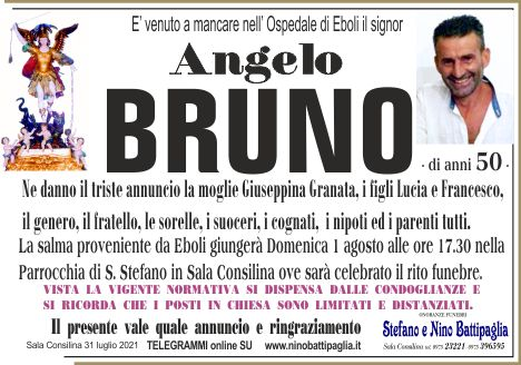 foto manifesto BRUNO ANGELO