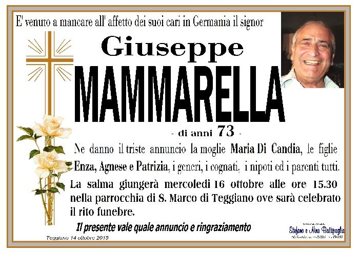 foto manifesto MAMMARELLA GIUSEPPE