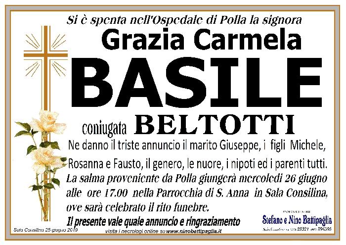 foto manifesto BASILE GRAZIA CARMELA