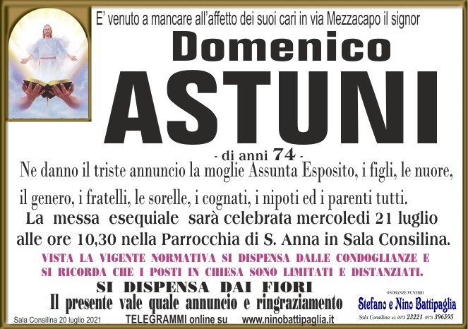 foto manifesto ASTUNI DOMENICO