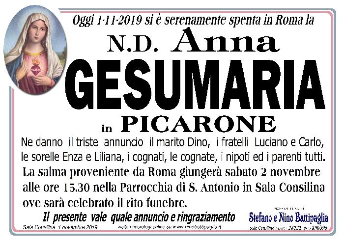 foto manifesto GESUMARIA ANNA