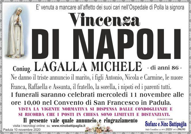 foto manifesto DI NAPOLI VINCENZA