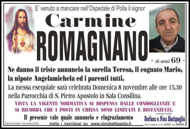 foto manifesto ROMAGNANO CARMINE