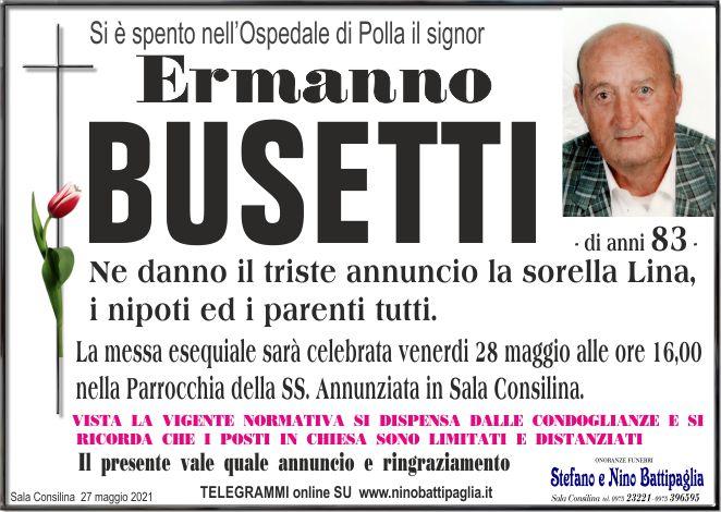 foto manifesto BUSETTI ERMANNO