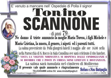 foto manifesto SCANNONE TONINO