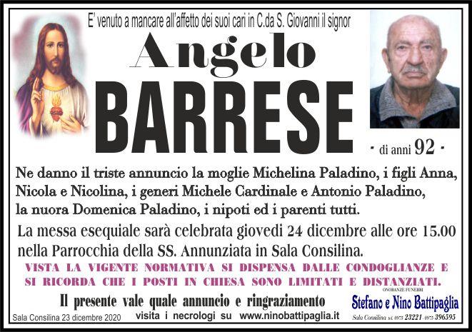 foto manifesto BARRESE ANGELO