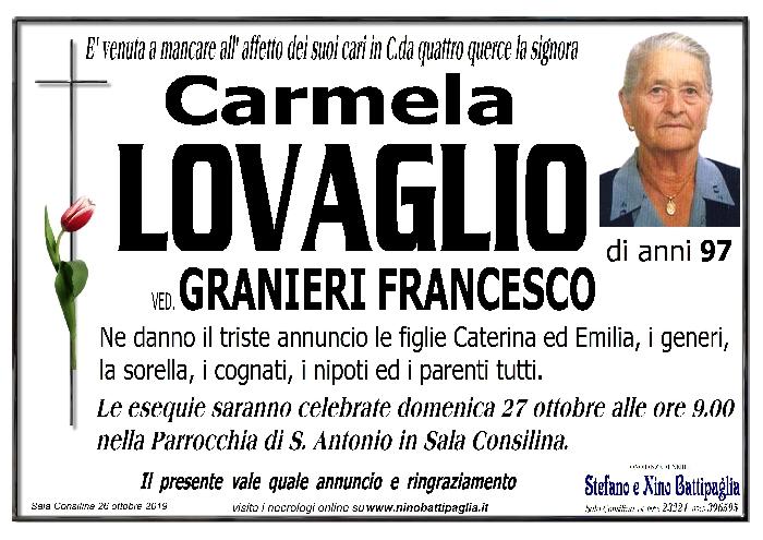 foto manifesto LOVAGLIO CARMELA