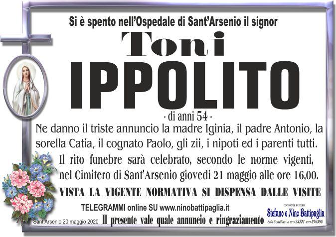 foto manifesto IPPOLITO TONI