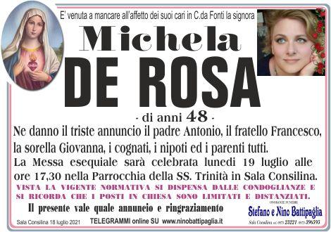 foto manifesto DE ROSA MICHELA