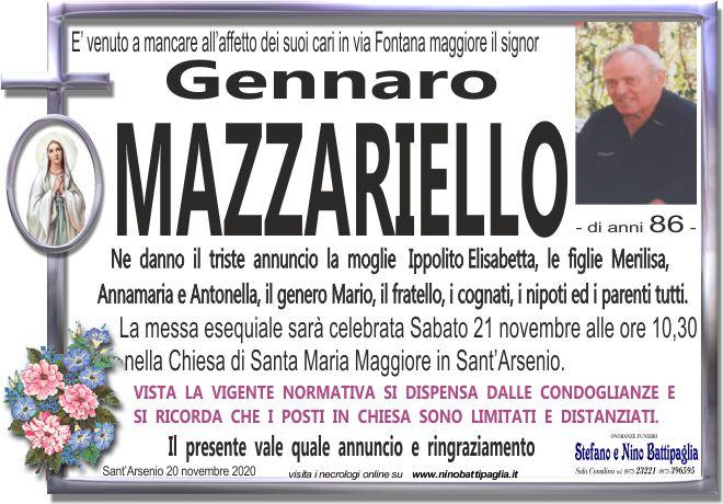 foto manifesto MAZZARIELLO GENNARO