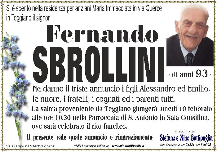 foto manifesto SBROLLINI FERNANDO