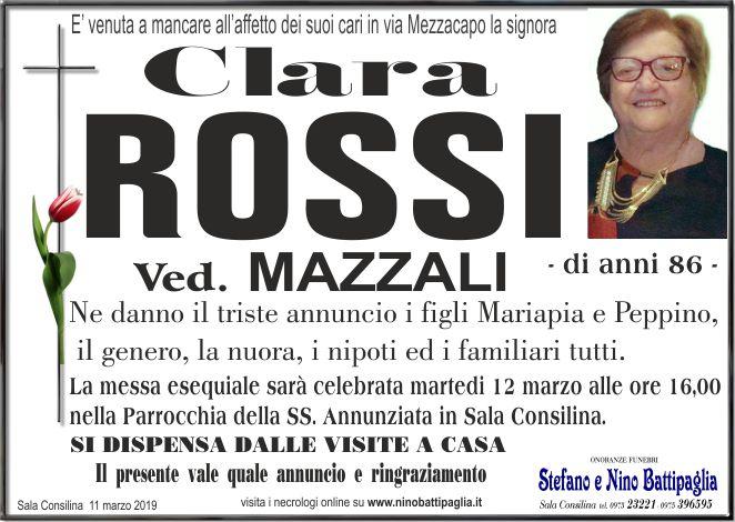 foto manifesto ROSSI CLARA