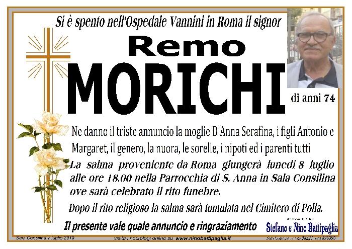 foto manifesto Morichi Remo
