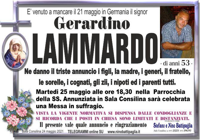 foto manifesto LAMMARDO GERARDINO