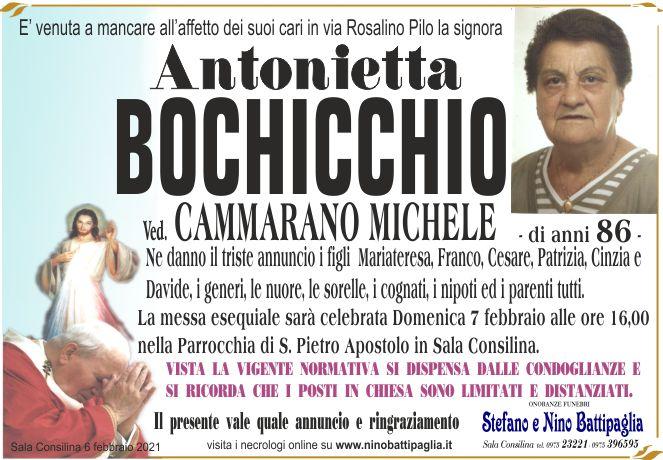 foto manifesto BOCHICCHIO ANTONIETTA