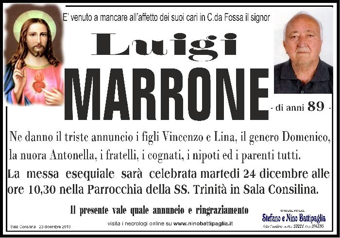 foto manifesto MARRONE LUIGI