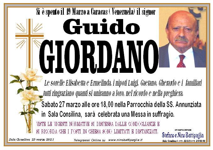 foto manifesto GIORDANO GUIDO