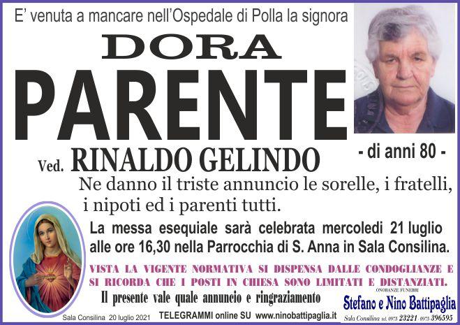 foto manifesto PARENTE DORA