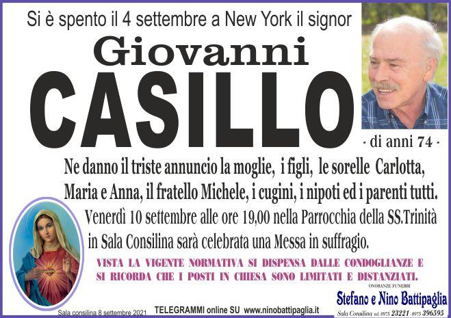foto manifesto CASILLO GIOVANNI