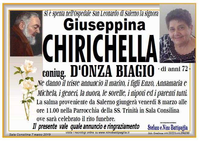 foto manifesto CHIRICHELLA GIUSEPPINA