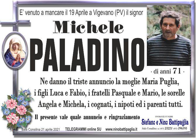 foto manifesto PALADINO MICHELE