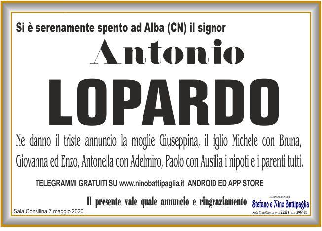 foto manifesto LOPARDO ANTONIO