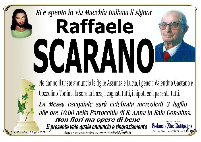 foto manifesto Scarano Raffaele