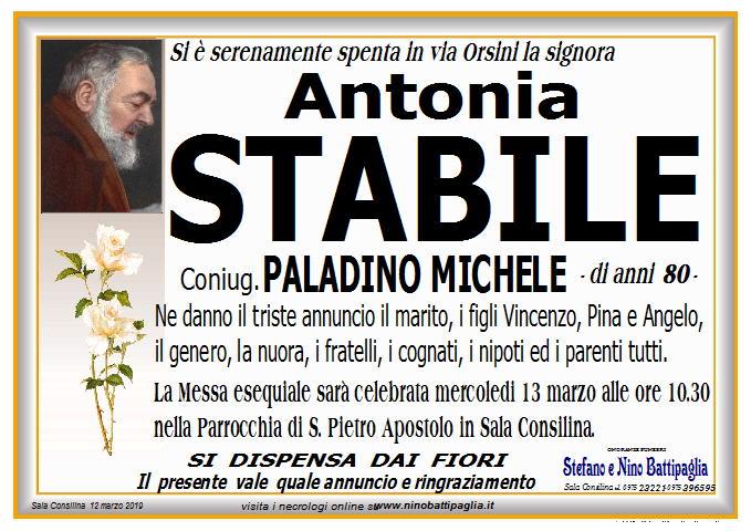 foto manifesto Stabile Antonia