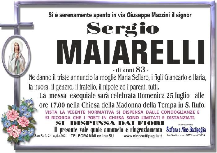 foto manifesto MAIARELLI SERGIO