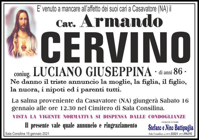 foto manifesto Cav. Cervino Armando