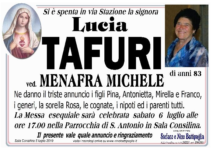 foto manifesto Tafuri Lucia
